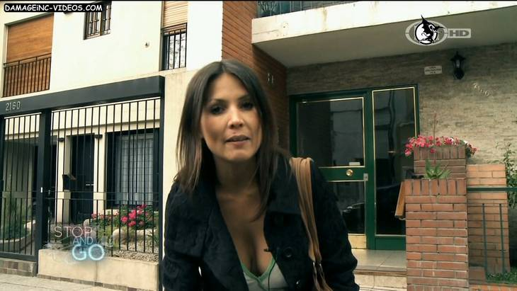 Argentina Celebrity Ursula Vargues big tits cleavage HD video