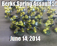 Berks Spring Assault 5!  Tournament Packet.