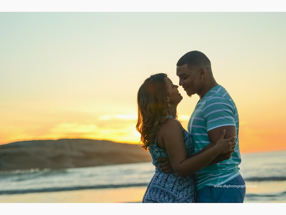 DK Photography LASTWEB-294 Robyn & Angelo's Engagement Shoot on Llandudno Beach { Windhoek to Cape Town }  Cape Town Wedding photographer