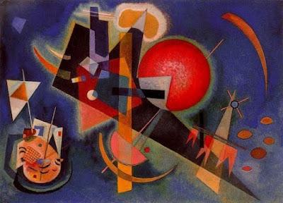 En blau (Wassily Kandinsky)