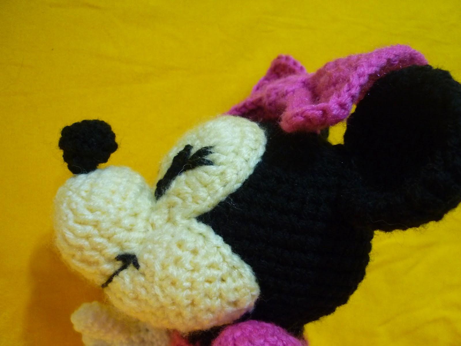 Tejiendo Suenos: Minnie Amigurumi crochet + Patron