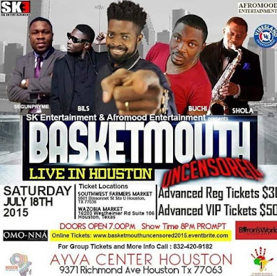 basketmouth uncensored houston texas