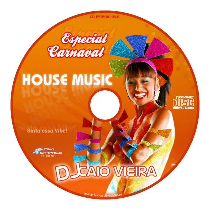 Cd house music especial carnaval by dj caio for Album house music