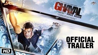 Ghayal Once Again _ Official Trailer _ Sunny Deol _ Soha Ali Khan _ 15th Jan 2016