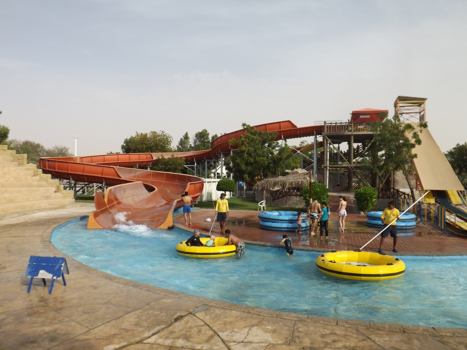 visit of dreamland aqua park bookofdubai