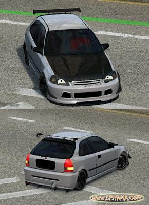 Lfs Honda Civic EK9 Araba Yaması
