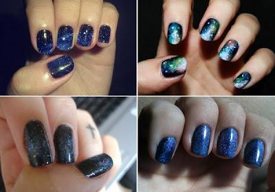 Dicas de como fazer unhas decoradas na cor azul