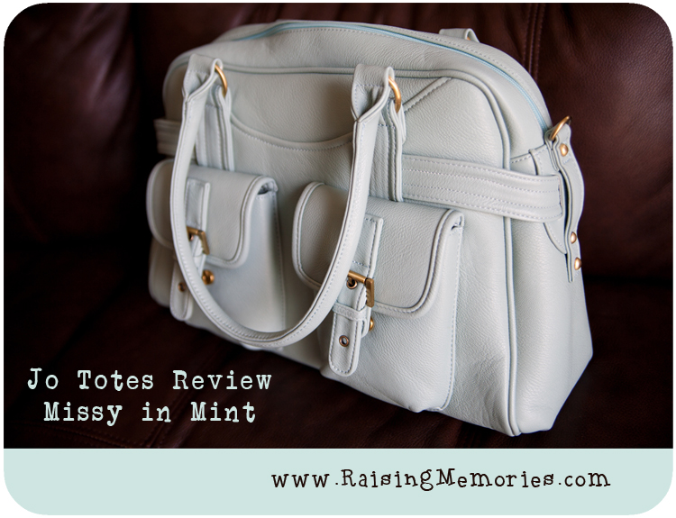Camera Bag Review Jo Totes Missy in Mint by www.RaisingMemories.com