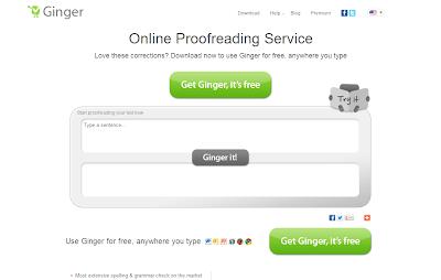 Ginger Online Proofreader