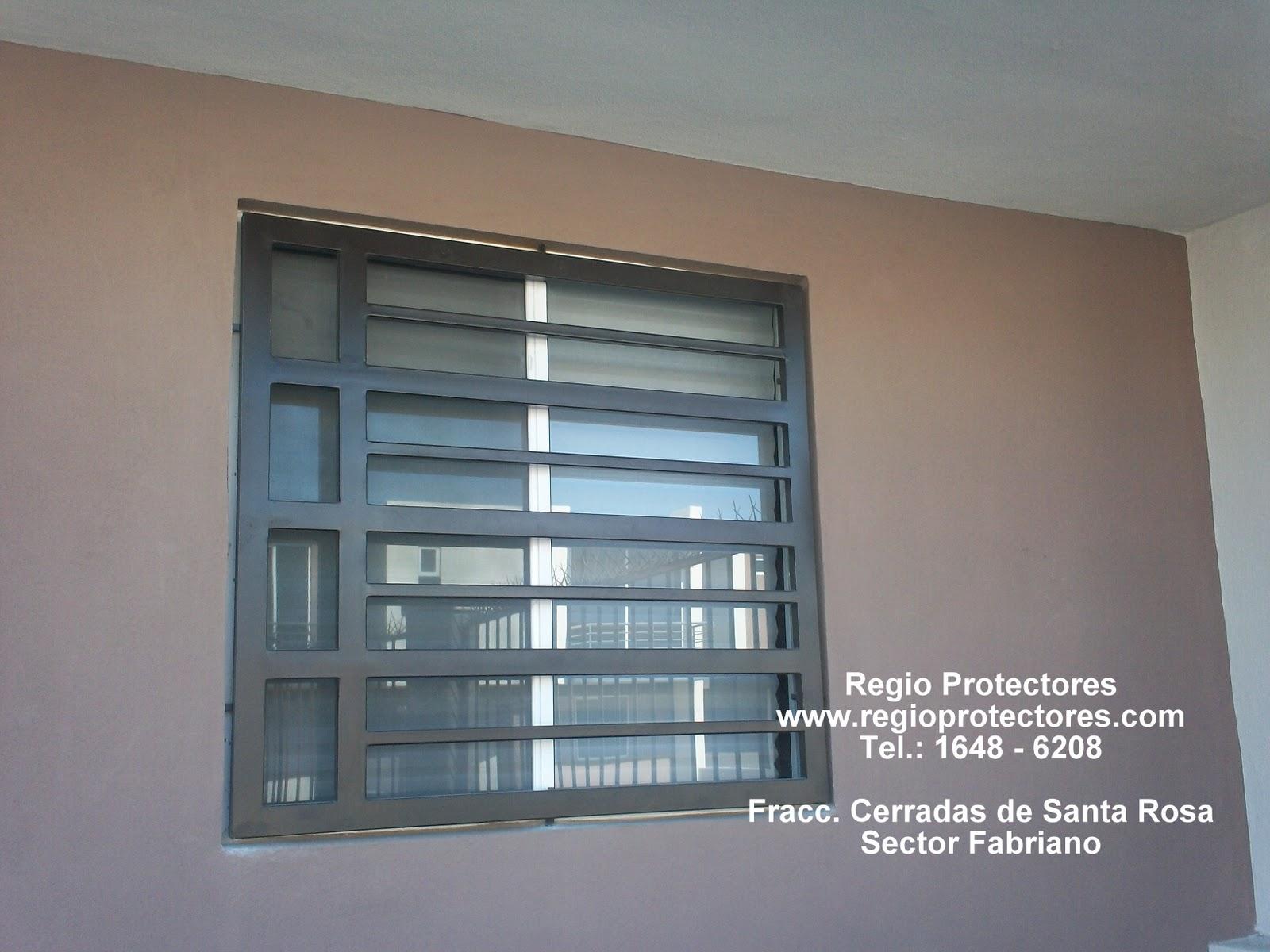 Protectores, Protectores para ventanas y puertas, Fracc. Cerradas de ...