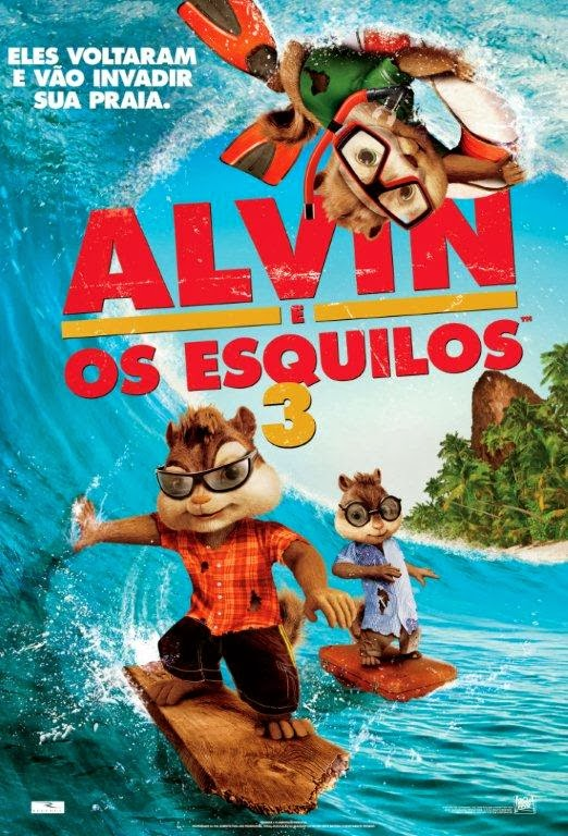 Alvin e os Esquilos 3 – Dublado (2011)