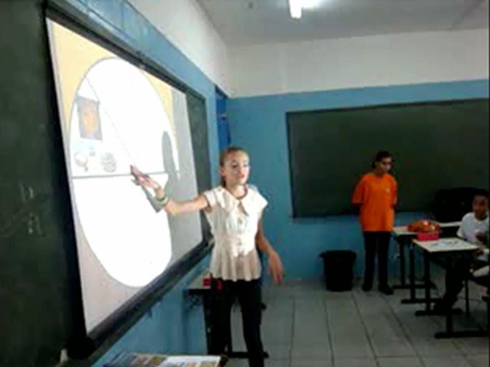 PALESTRA ALIMENTAÇÃO SAUDÁVEL- ALUNA LOURRAYNE