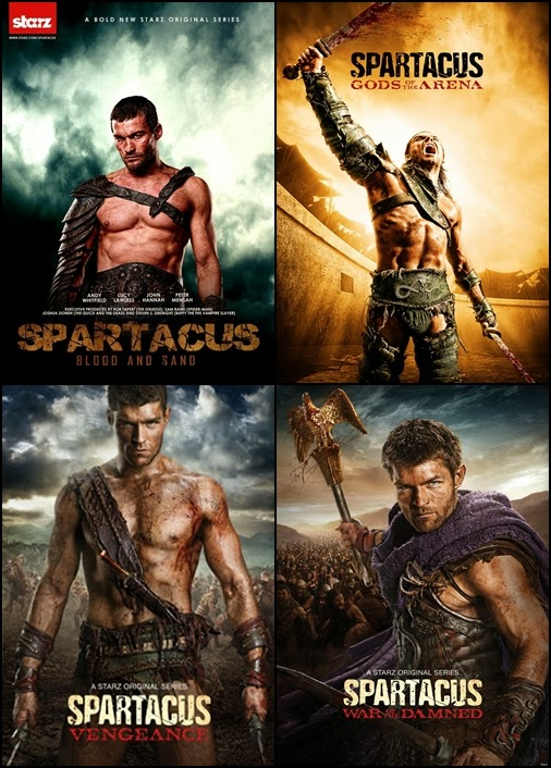 Spartacus TV series posters