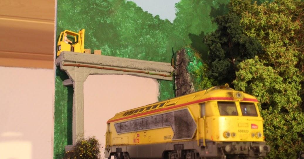 Un train une passion fabrication d 39 un pont en b ton for Fabrication d un linteau en beton