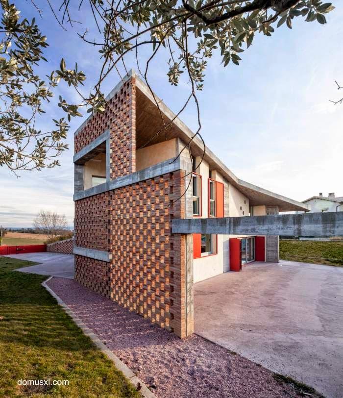 Casa de ladrillos en España