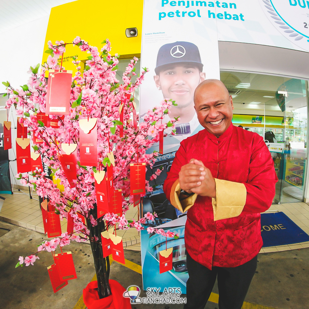 "PDB Managing Director and Chief Executive Officer Mohd Ibrahimnuddin Mohd Yunus wishing you ""Gong Xi Fa Chai""!!"