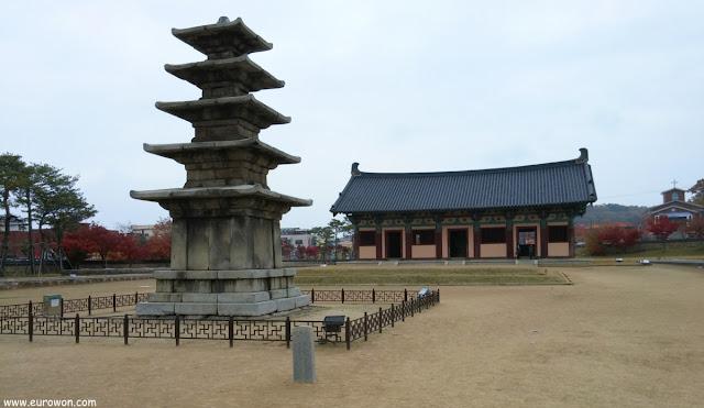 Pagoda de cinco niveles de Jeongnimsa en Buyeo