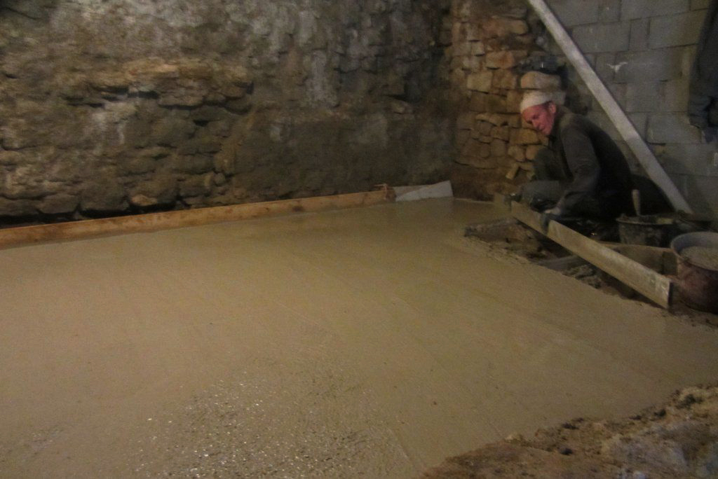 Petra terra scop chape b ton de chaux - Chape de beton ...
