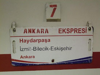 Ankara - Ankara Express - The Turkish State Railways, Turkey