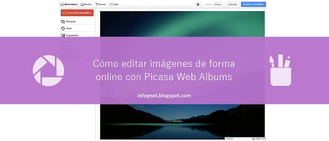 Cómo editar imágenes de forma online con Picasa Web Albums
