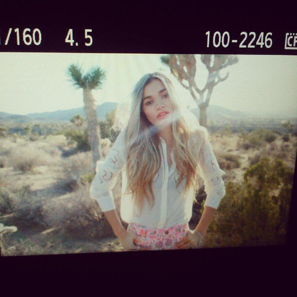 Nasty Gal Coachella 2013 Lookbook featuring Pia Mia Perez