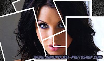 Manipulasi Wajah dengan Photoshop Efek Kolase