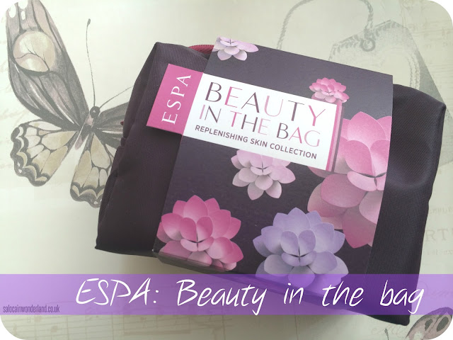 ESPA beauty in the bag