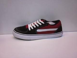 Sepatu Vans TNT merah grosir