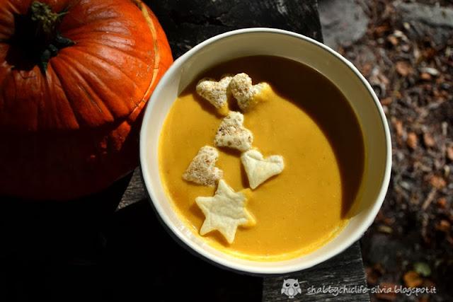 Zuppa di zucca al pic nic d'autunno di Passione Shabby