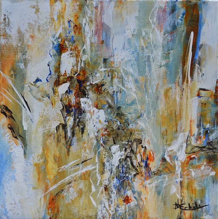 No Day Without Art by Nancy Eckels Large abstract contemporary