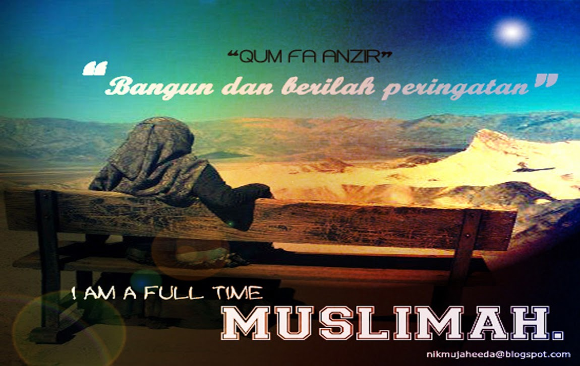 i am a full-time muslimah