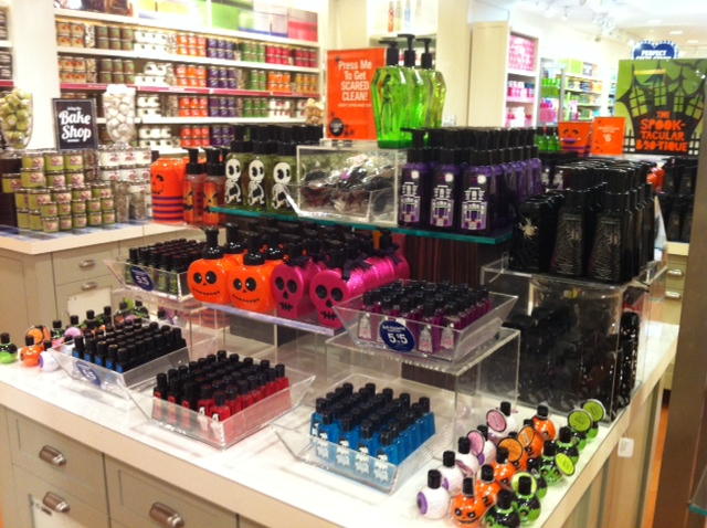 halloween finds at bath and body works