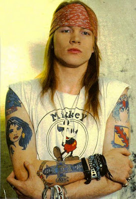 axl rose and mickey mouse