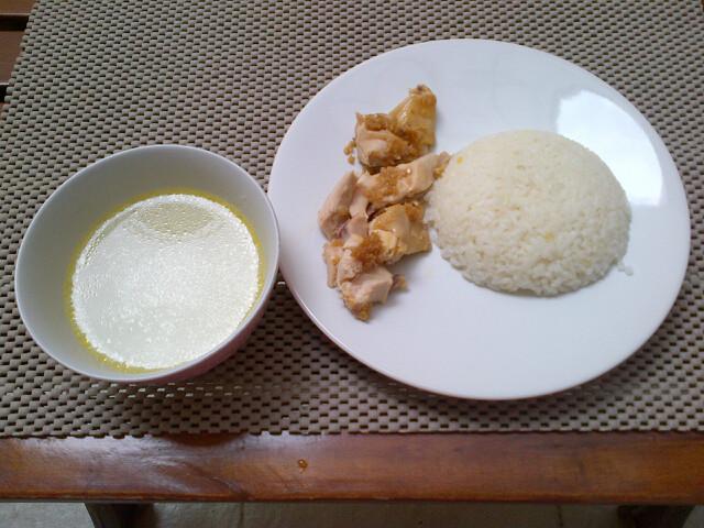 Chinese Food Week NCC: Nasi Hainam Ayam Tim by Rina