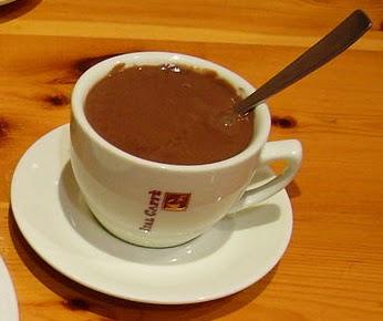 Chocolate caliente contra el frío