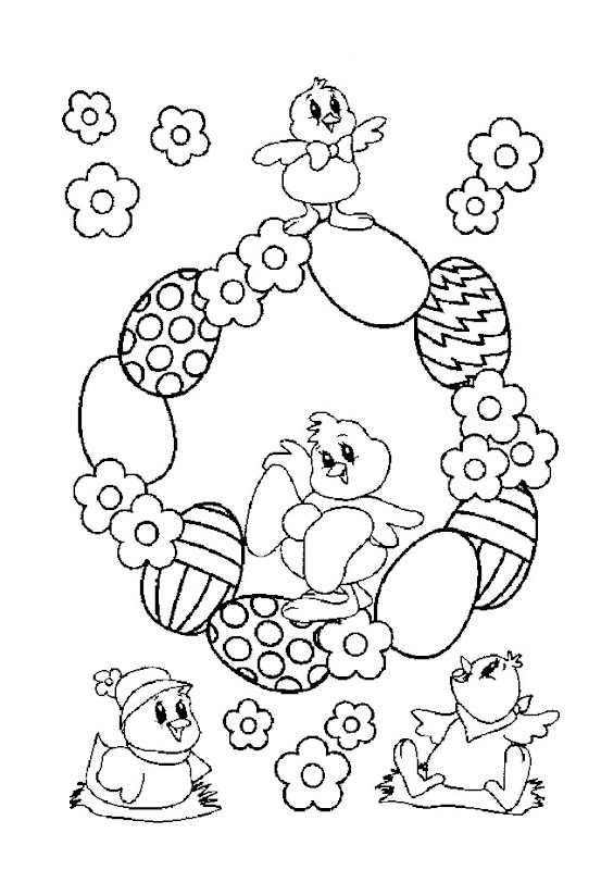Easter Coloring Pictures for Kids title=