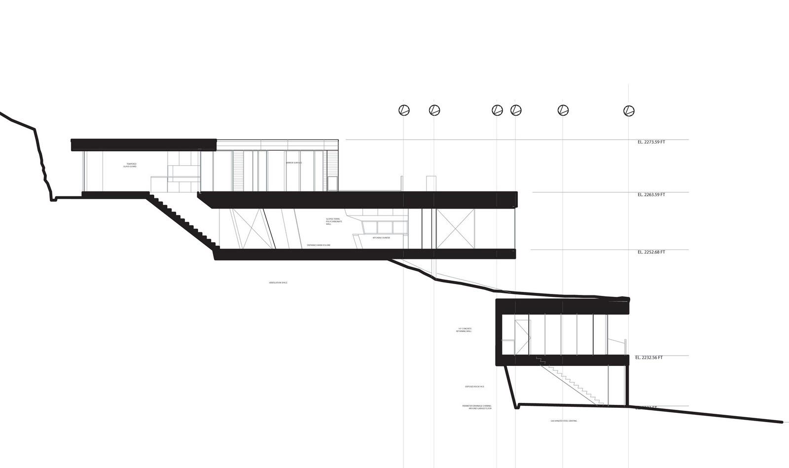 Modern slope house design beautiful homes blog for Steep slope house design ideas