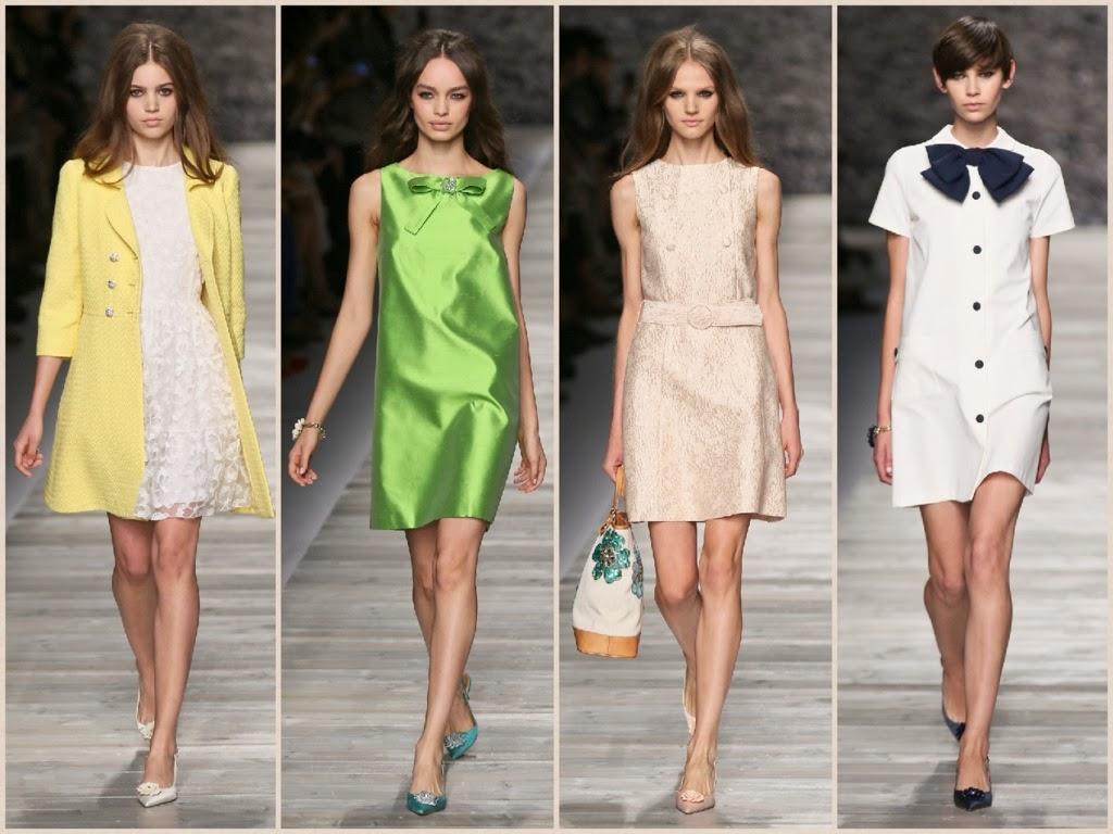 blugirl, sfilate, milano fashion week, collezione primavera estate 2014, abiti