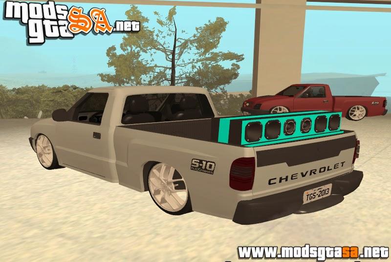 SA - Chevrolet S10 Colina 2010 Edit + Som + Roda 20