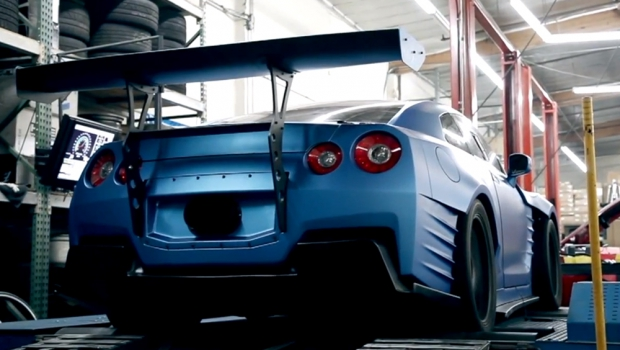 Fast And Furious 6 Nissan GT R Revealed