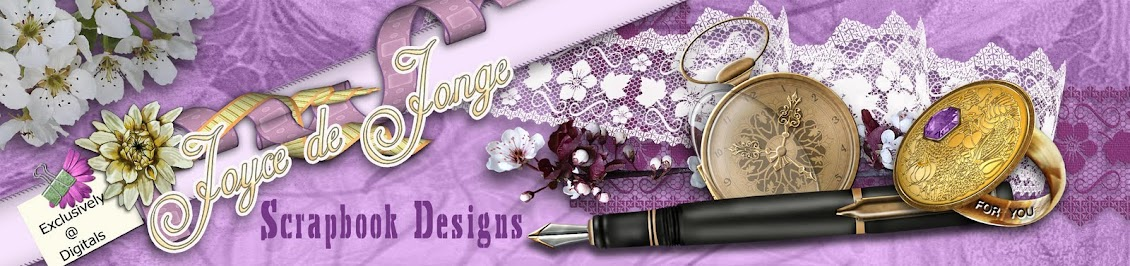 Joyce de Jonge Scrapbook Designs