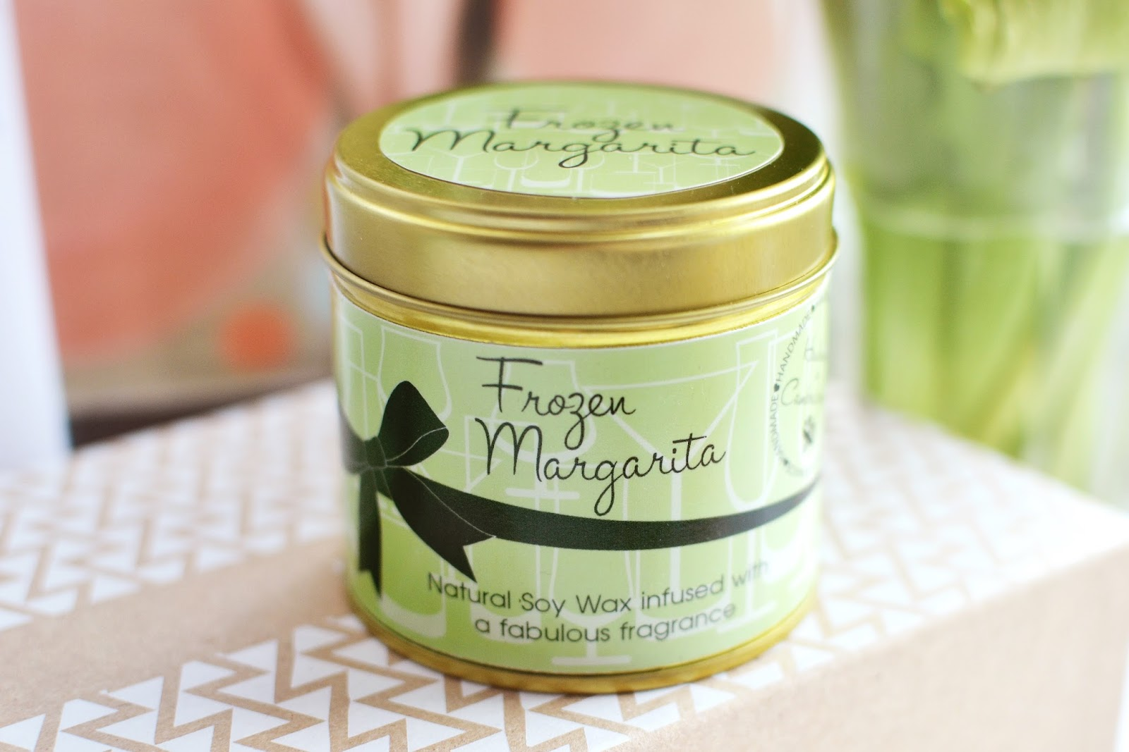 frozen margarita candle