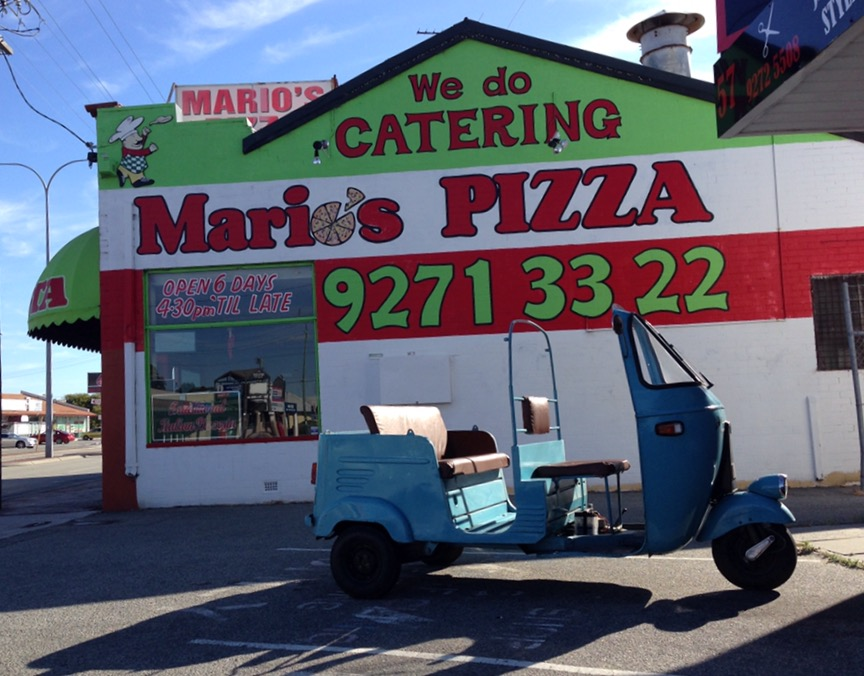 Mario's Pizza side