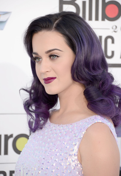 Katy Perry purple hair gifs