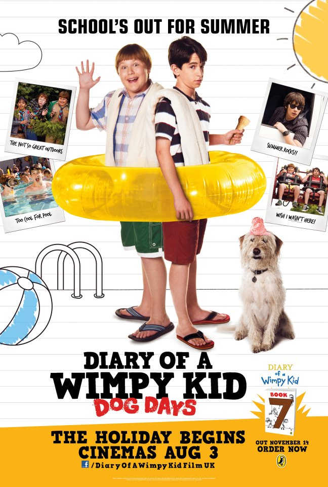 Watch Diary of a Wimpy Kid: Dog Day Movie Online Free 2012