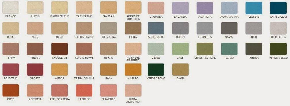 Revestimientos y pavimentos ledo mayo 2014 - Mortero monocapa colores ...