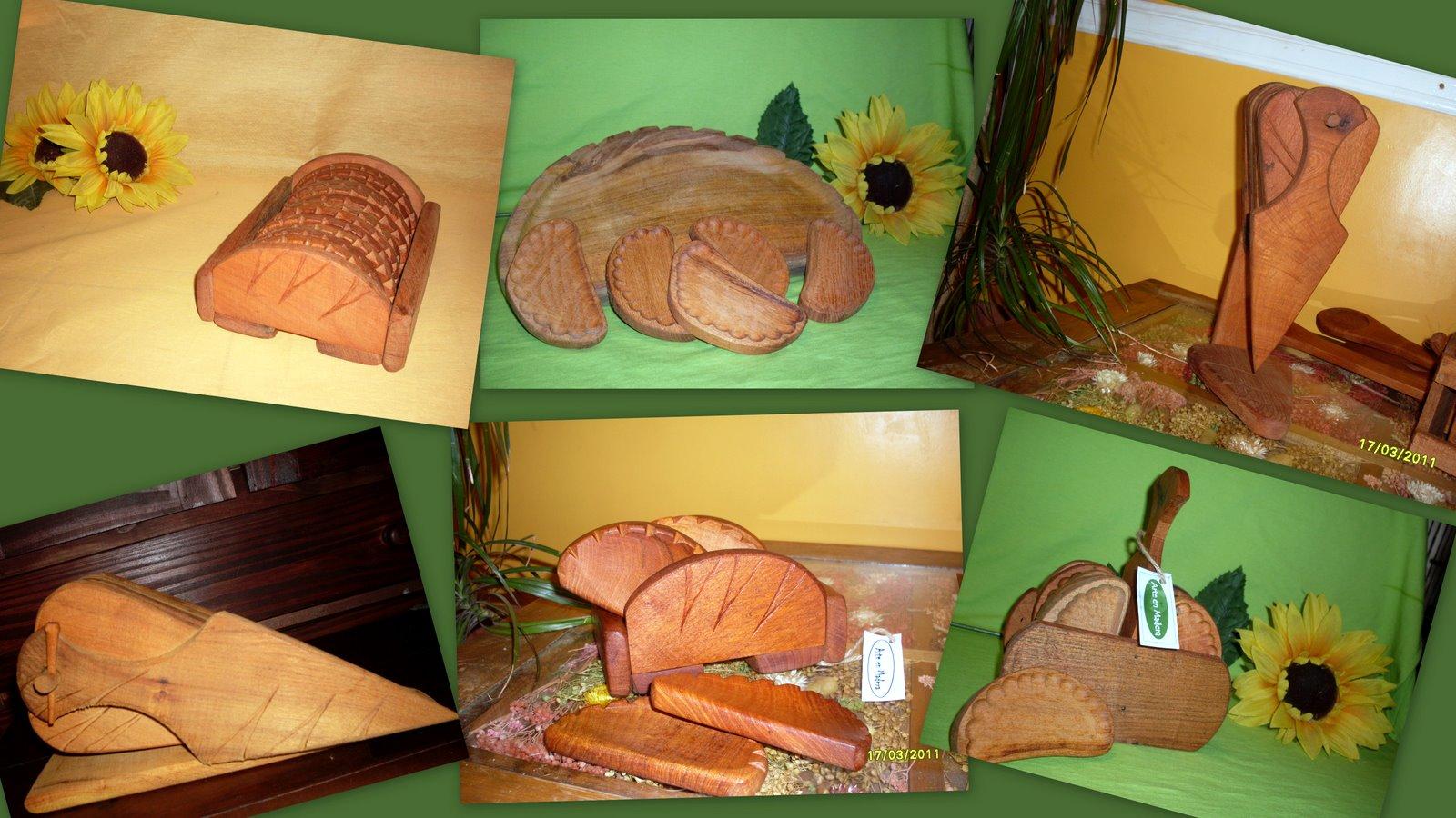 Arte en madera tablas para pizza y empanadas - Empanelados de madera ...
