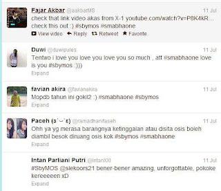 Sampai sekarang masih banyak tweet tentang MOS di Surabaya