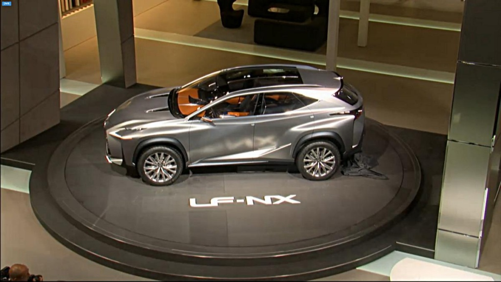 2013 Lexus LF-NX Concept unveiled in Frankfurt