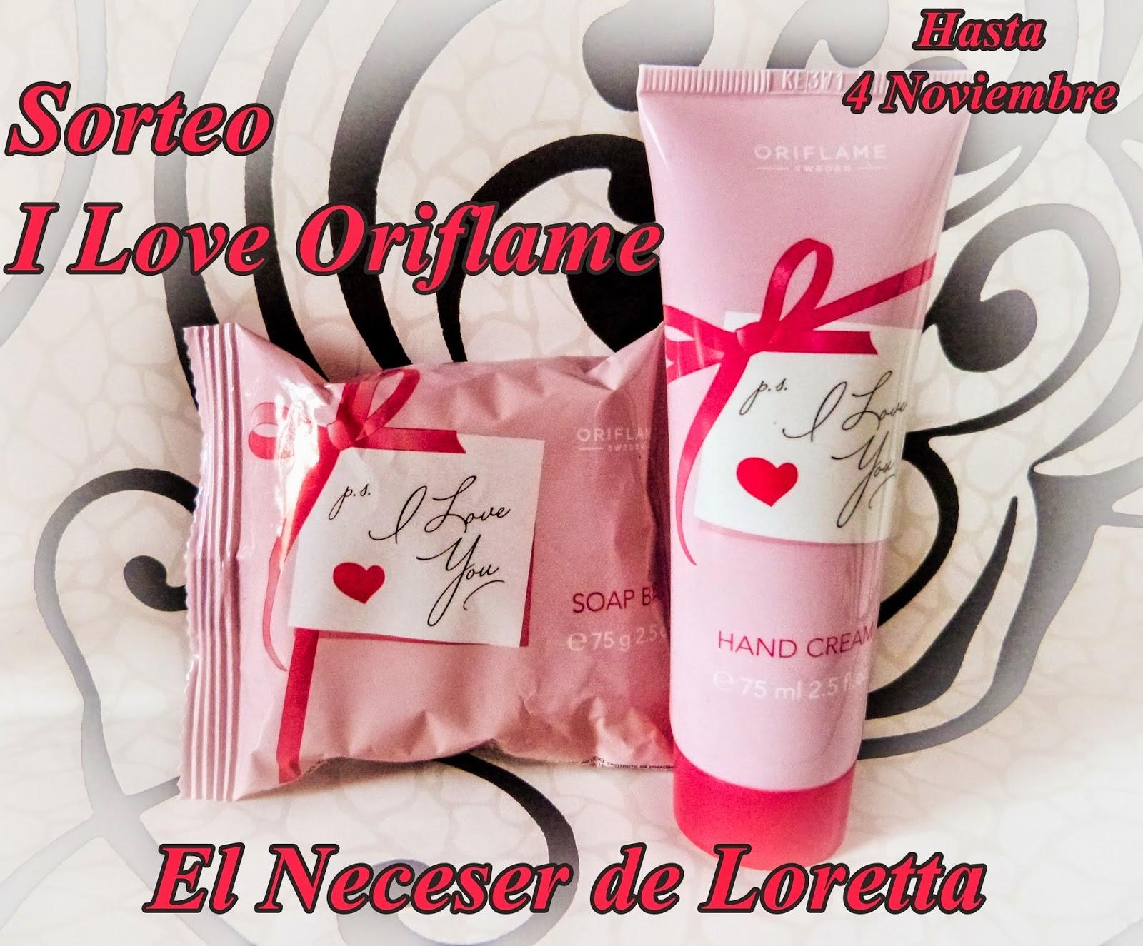 Sorteo I Love Oriflame